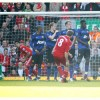 Anfield View: Steven Gerrard Free Kick Goal Against Manchester United
