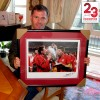 Steven Gerrard and Jamie Carragher Signed Istanbul Picture