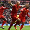 Skrtel and Sterling Goals v Arsenal *Anfield View*