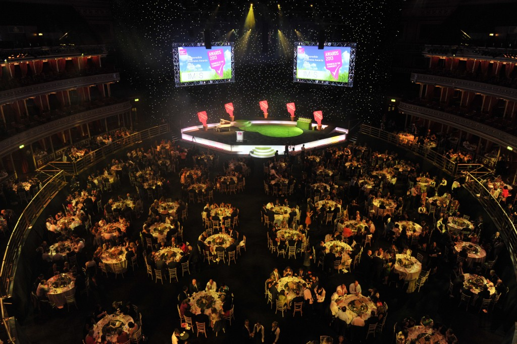 2 -Business in the Community Awards Ceremony at Royal Albert Hall in London where LFC received the CommunityMark award