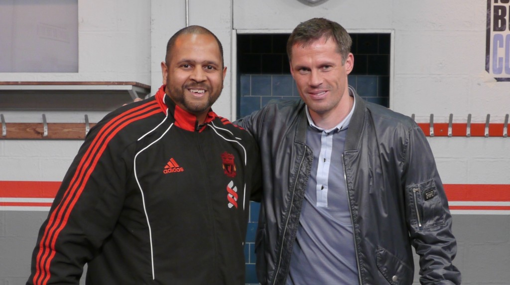 Jamie Carragher and Deepak Sharma