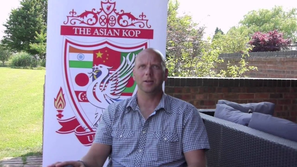 Rob Jones The Asian Kop